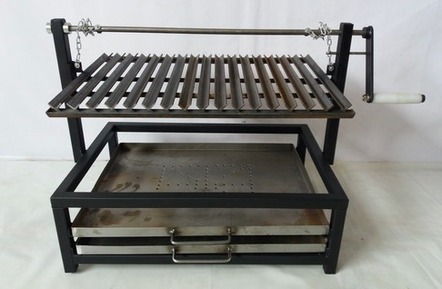 adjustable argetinian grill for asado