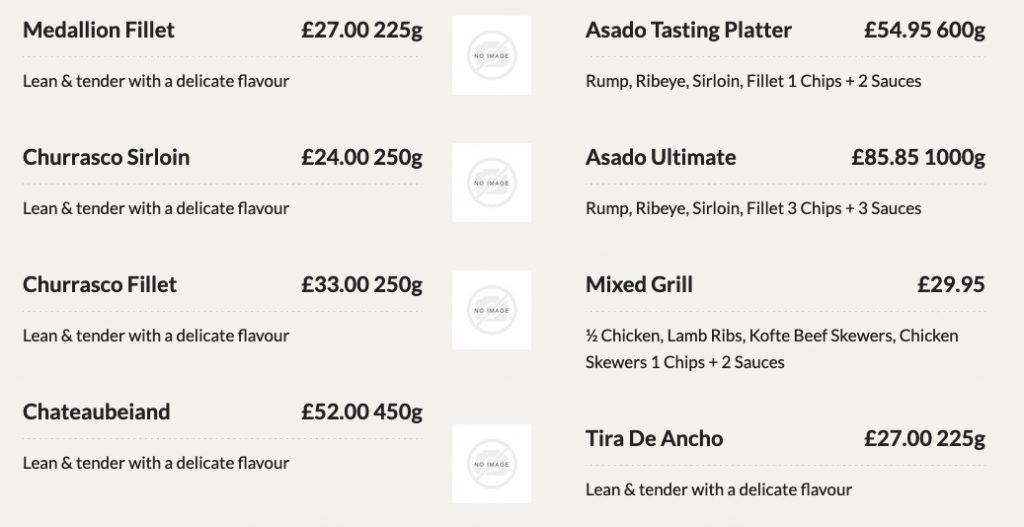 Asado Steakhouse london